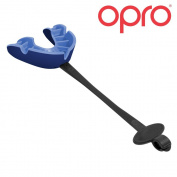 OPRO Self-Fit GEN3 Silver Mouthguard + Strap