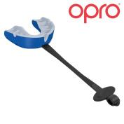 OPRO Self-Fit GEN3 Gold Mouthguard + Strap