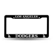 Rico Industries MLB Plastic Licence Plate Frame, Los Angeles Dodgers
