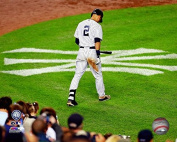New York Yankees Derek Jeter. The Captain Plays His Last Game At Yankee Stadium 8x10 Photograph Picture.