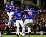 Chicago Cubs 2016 World Series Game 7 Celebration Photo