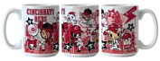 Boelter Brands MLB Cincinnati Reds Tokidoki Coffee Mug