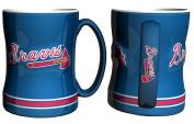 Atlanta Braves Coffee Mug - 410ml Sculpted Relief