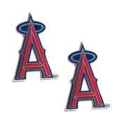 Los Angeles Angels Post Stud Logo Earring Set Mlb Charm