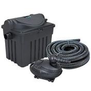 Boyu Garden Fish Pond Bio Filter And Pump With Uv Steriliser And Hose Complet...