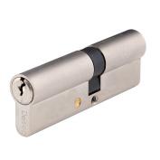 Deseo Cylinder Door Lock - Anti Snap Security - Silver - G5050