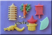 Far East - Silicone Icing Moulds For Cake And Cupcake Decoration