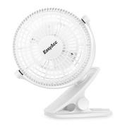 Easyacc 720° Rotation Clip Desk Fan Mini Usb Personal Cooling Fan Portable