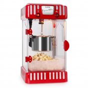 Klarstein Volcano Retro Style Movie Night Popcorn Maker 1950s Classic 300w Max,