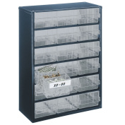 B#raaco Cabinet 918-02 With 18 Drawers 137478 Metal Tools Storage Box Organiser