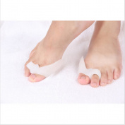 Gel Bunion Straightener Corrector Protector and Toe Separator to aid Hallux Valgus - 2 PACK