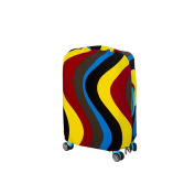 Luggage Cover 18-50cm Elastic Nonwoven Dust-Proof Travel Bag Suitcase Cover