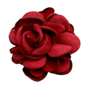 TOOKY Flower Lapel Pin Brooch Handmade Brooches Corsage Hair Clip Clip