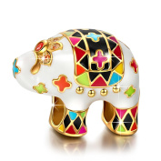 NINAQUEEN - Lucky Elephant - 925 Sterling Silver Charms Nickel-free