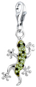 Nena Lina Charm Gekko Pendant in 925 Sterling Silver Fit All Brands Charm 716240 Nickel