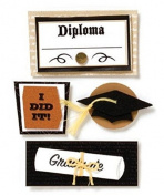 Karen Foster Stacked Stickers, Graduation
