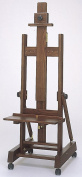Easel wood wooden easel display display easel antique wood; 4t7167s6