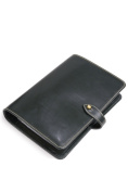 White House coxswain stationery system notebook s8753 organiser size brei dollar leather 6 hole constant seller model green