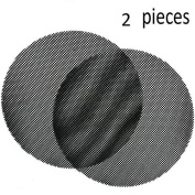 Fonxa Bbq Round Grilling Mesh, Non-stick Teflon Grill Mat For Cooking /