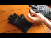 Joyoldelf Newest Heat Resistant Silicone Kitchen And Bbq Gloves -perfect &