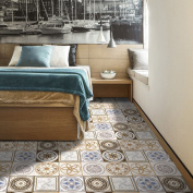 MIAORUI European style imitation tile stickers stickers stickers affixed to the wall surface 3D simulation tiles