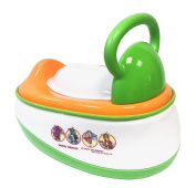 3 in 1 Multi functional Baby Potty Trainning Chair Toilet Seat Stool Steps Ladder - GREEN