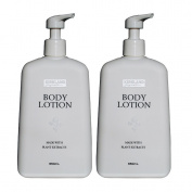 Kirkland Signature Body Lotion Made with Plant Extract 2 x 650ml Pack