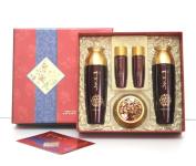 Yezihu Premium Jinyul Ginseng Extracts 3Pc Set / Herbal Skin Care / Korean Cosmetics