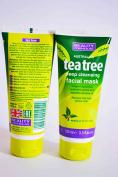 BEAUTY FORMULAS AUSTRALIAN TEA TREE DEEP CLEANSING FACIAL MASK 100ml