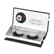Arison Lashes False Eyelashes 3D Long Thick Voluminous Dramatic Looking 100% Handmade for Makeup