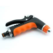 Hozelock Compatible - Adjustable Metal/rubber Spray Gun For Garden Hose - B-line