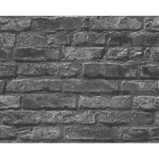 New As Creation Brick Wall Pattern Faux Effect Embossed Non Woven Wallpaper Roll