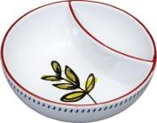 World Of Flavours Mediterranean Ceramic Olive Serving Bowl