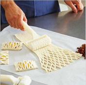1x New Baking Tool Cookie Pie Pizza Pastry Lattice Roller Cutter