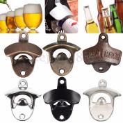 Alloy/bronze Metal Wall Mounted Beer Wine Bottle Cap Bar Opener Bar Kitchen Tool