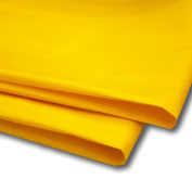 100 X Bright Yellow Tissue Paper / Wrap / Wrapping Paper Sheets 50cm X 80cm