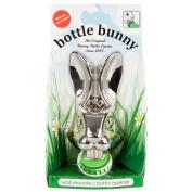 Bunny Bottle Opener Wall Mounted Cool Beer Cap Opener Chrome Metal Rabbit Head
