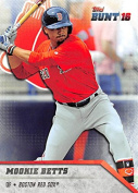 2016 Topps Bunt #193 Mookie Betts Boston Red Sox