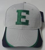 New EMU Eagles Grey & Green Buckle Hat