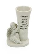 Special Nan Stone Graveside Flower Vase Ornament