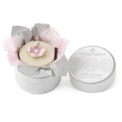 White Jasmine Wedding Favour Soap Mini Hat Box By Heyland & Whittle