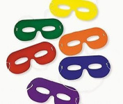 12 Superhero Style Bright Card Eye Masks | Superhero Crafts For Kids