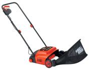 Black+decker B/dgd300 Lawnraker 600 W 30 Cm - Black/orange