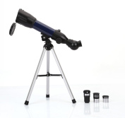 BV & Jo Astronomical Refractor 36x-120x Telescope With Tabletop Tripod & Compass - For Child Kids Sky Gazers & Birds Watching