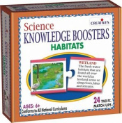 Cre0195 - * Creative Science Boosters - Habitats