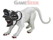 Papo Dog Cerberus Figure (white) - Toys .