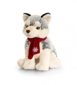 Husky With Scarf 20cm Keel Toys