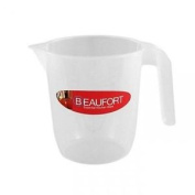 Thumbs Up Beaufort Kitchen Baking Plastic Measuring Jug With Handle - 1 Litre