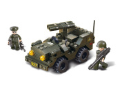 Military Rocket Truck Jeep W/ Figures Compatible Building Bricks Toy Kit New