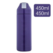 YIHANG @ Stainless Steel Insulated Cup Male Creative Portable Cup Student Couple Outdoor Thermos Bottle,Purple